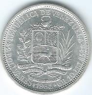 Venezuela - 2 Bolívares - 1965 - KMYA37 - Venezuela