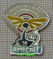 AMICALE PAF 76  POLICE DE L'AIR ET DES FRONTIERES  DRAKKAR  SEINE MARITIME - Policia