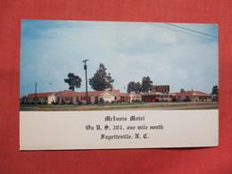McInnis Motel   Fayetteville  North Carolina        Ref 3503 - Fayetteville