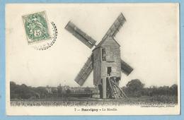 BA0157    CPA   SOUVIGNY  (Loir Et Cher)  Le Moulin  +++++ - France