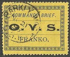 Boer War. BARKLY WEST Postmark Commando Brief Orange Free State. Very Rare. - Südafrika (...-1961)
