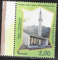 BOSNIA, MUSLIM, 2019, MNH, ARCHITECTURE, MOSQUES, STOLAC MOSQUE,1v - Mosques & Synagogues