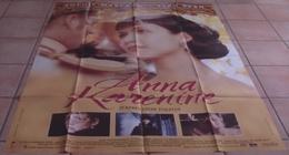 AFFICHE CINEMA ORIGINALE FILM ANNA KARENINE Sophie MARCEAU Sean BEAN Bernard ROSE Léon TOLSTOÏ 1997 TBE - Affiches & Posters