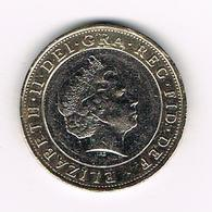 //  GREAT  BRITAIN  2  POUNDS 2014 - 2 Pounds