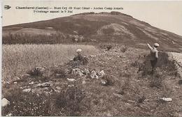 19, Corrèze, CHAMBERET, Mont Cey Dit Mont César - Ancien Camp Romain, Scan Recto Verso - Altri Comuni