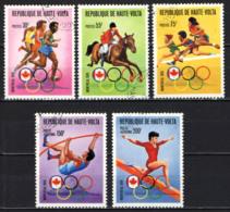 ALTO VOLTA - 1976 - OLIMPIADI DI MONTREAL - USATI - Alto Volta (1958-1984)