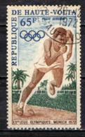 ALTO VOLTA - 1972 - OLIMPIADI DI MONACO DI BAVIERA - USATO - Alto Volta (1958-1984)