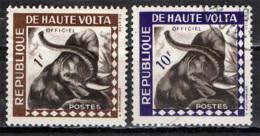 ALTO VOLTA - 1963 - ELEFANTE - USATI - Alto Volta (1958-1984)