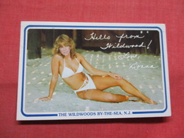 Hello From Wildwood  Love Donna  NJ     Ref 3503 - Pin-Ups