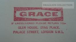 D165895  Great Britain -FREISTEMPEL EMA-METER STAMP -GRACE - London 1971 - Affrancature Meccaniche Rosse (EMA)