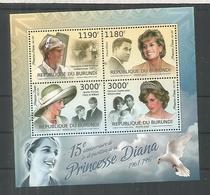 BURUNDI PRINCESA DIANA PRINCESS - Familias Reales