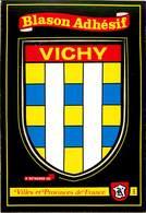 Dép 03 - Blasons - Vichy - Blason Adhésif - Semi Moderne Grand Format - état - Vichy