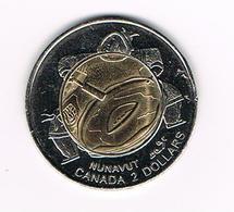 //  CANADA 2  DOLLARS  1999 NUNAVUT - Canada