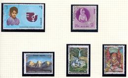 1975 - NEPAL  -  Mi. Nr.  322/326 - Used - (CW4755.43) - Nepal