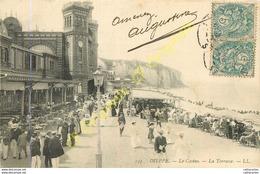 76.  DIEPPE .  Le Casino .  La Terrasse . - Dieppe
