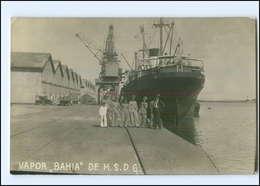 U6567/ Dampfer Bahia  H.S.D.G.  Foto AK Ca.1930 - Paquebots