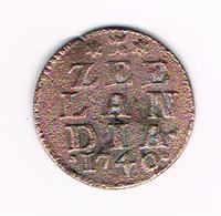 //   ZEELAND  1 DUIT  1740 - [ 1] …-1795 : Période Ancienne