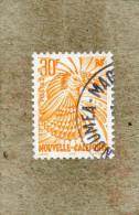 Nelle CALEDONIE : Oiseau - Le Cagou (Rhynochetos Jubatus)  - Série Courante -  Nouveau Type - - Usati