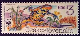 Tchécoslovaquie Czechoslovakia Ceskoslovensko 1989 Animal Grenouille Frog WWF Yvert 2809 ** MNH - Unused Stamps