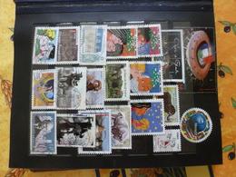 Lot France 340 Oblitérés + 40 Neufs Tous Différents - Collections (en Albums)