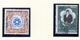 1974 - NEPAL  -  Mi. Nr.  302+308 - NH+USED - (CW4755.43) - Nepal