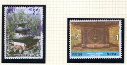 1974 - NEPAL  -  Mi. Nr.  309/310 - USED - (CW4755.44) - Nepal