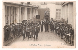 CPA 91 MONTLHERY INSTITUTION PROU LA MUSIQUE  RARE BELLE CARTE !! - Montlhery