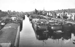 ¤¤   -   MAYVILLE - HARFLEUR   -  Le Vieil Harfleur  -  Flotille Sur La Lézarde  -  Péniches    -  ¤¤ - Harfleur