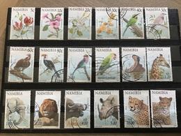 Namibië / Namibia - Complete Set Flora En Fauna 1997 - Namibië (1990- ...)