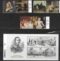 UK, 2019, MNH, ROYALS, QUEEN VICTORIA BICENTENARY, HORSES, PALACES, ARCHITECTURE, 6v+SHEETLET - Royalties, Royals