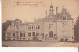 50- Barfleur Le Chateau De Pepinvast   Facade Principale - Barfleur