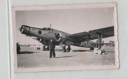 Photo Originale Avion  Dewoitine 338 Sfax 1941 à Identifier - Aviation