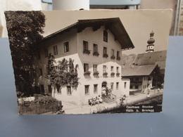 Carte Photo Gasthaus Stocker Reith B. Brixlegg. Belle Carte Glacée 1955 - Brixlegg