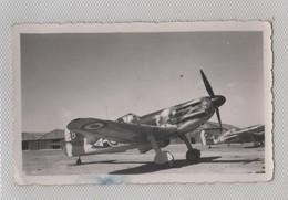 Photo Originale Avion  Dewoitine 520 Sfax 1941 à Identifier - Aviation