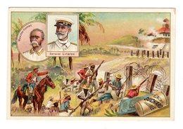 Chromo, Guerre Espagne Americaine, S 77 / 9, Maximo Gomez, Géneral Linares, Chocolat Suchard, Suisse - Suchard