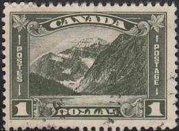 Canada 1930-31 Used Sc 177 $1 Mt Edith Cavell - Oblitérés