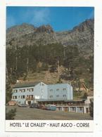 Cp ,20, 2B , Station De Ski Du HAUT ASCO , Hotel LE CHALET , Restaurant - Bar ,  Vierge - France
