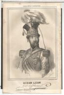 GRABADO GUERRA CARLISTA MILITAR DIEGO LEON PANORAMA ESPAÑOL CARLISMO - Otras Colecciones