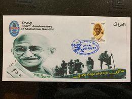 IRAQ 2019 MNH 150th Anniversary Of The Mahatma Gandhi Stamp LTD India FDC 3 - Iraq