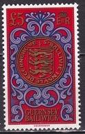 GUERNSEY 1981 Coins £ 5 MNH Red / Violet Mi 222 - Guernsey