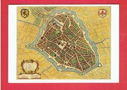 LILLE PLAN DE LA VILLE EN 1647 CARTE EN TRES BON ETAT - Lille