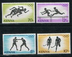 "Kenia / 1984 / Mi. 292-295 ""Olympiade"" ** (19663) - Kenia (1963-...)"