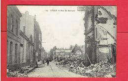 LILLE RUINES DE LA GUERRE 1914 1918 WWI RUE DE BETHUNE CARTE EN TRES BON ETAT - Lille