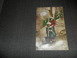 Enfants ( 2829 )  Enfant   Traîneau  Slede  Slee  Luge - Autres