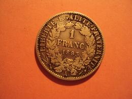 1 F CERES  ANNEE 1895 A TB  MIS EN VENTE 3 EUR - Francia