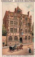 Belle Chromo Chocolat , Guérin-Boutron, Hôtel De Ville Paray Le Monial, Saone Et Loire - Guerin Boutron
