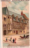 Belle Chromo Chocolat , Guérin-Boutron, Palais De Justice à Grenoble, Isère - Guerin Boutron
