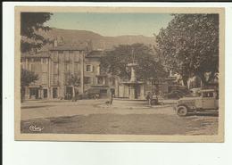 05 - Hautes Alpes - Laragne - Place De La Fontaine - Cachet De La Brigade De Gendarmerie - - Autres Communes