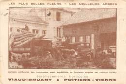 86-POITIERS- ETABLISSEMENT HORTOCOLES- VIAUD BRUANT - LES PLUS BELLES FLEURS, LES MAILLEURS ARBRES - Poitiers