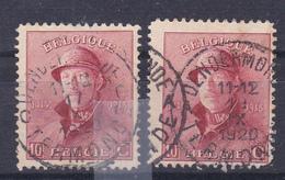 168  Dendermonde   Kaart A492 - 1919-1920 Albert Met Helm